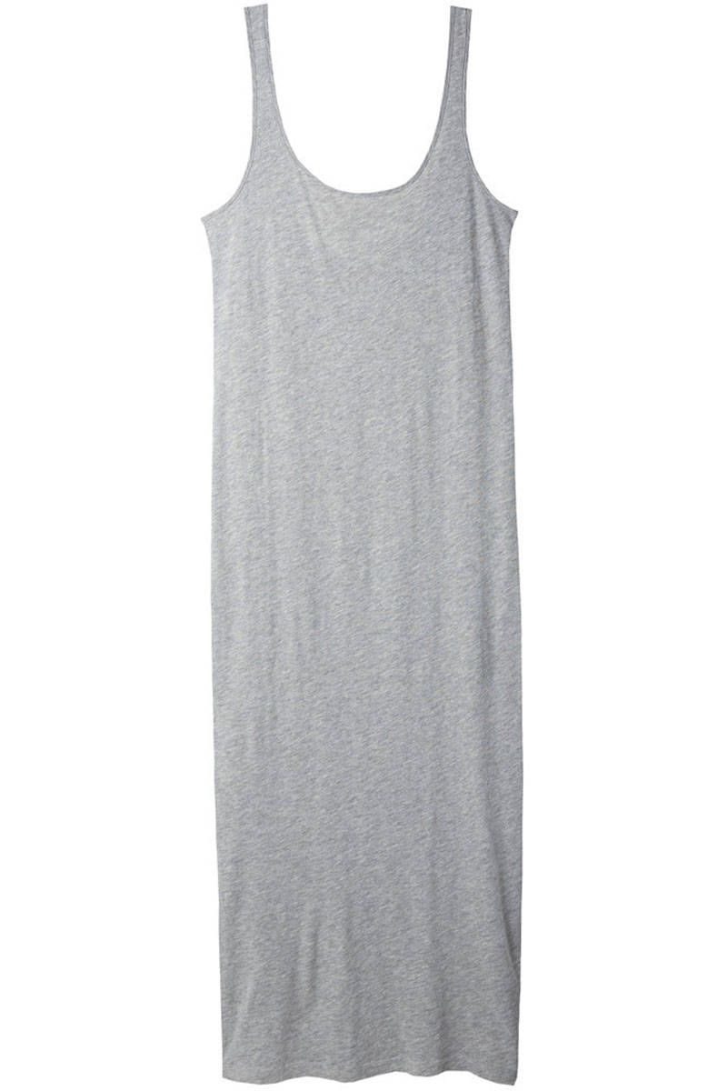 10 Jersey Dresses To Make Your Life Easier Cotton Tank Dress Grey Tank Dress Scoop Neck Tank Dress [ 1200 x 800 Pixel ]