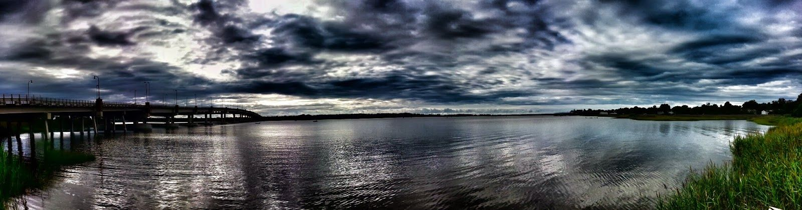 Blackstone Imaging: A moody panorama of the Mattaponi River. You can j...