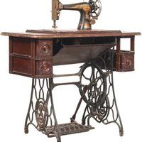 Treadle machine restoration sewing singer Restoration of