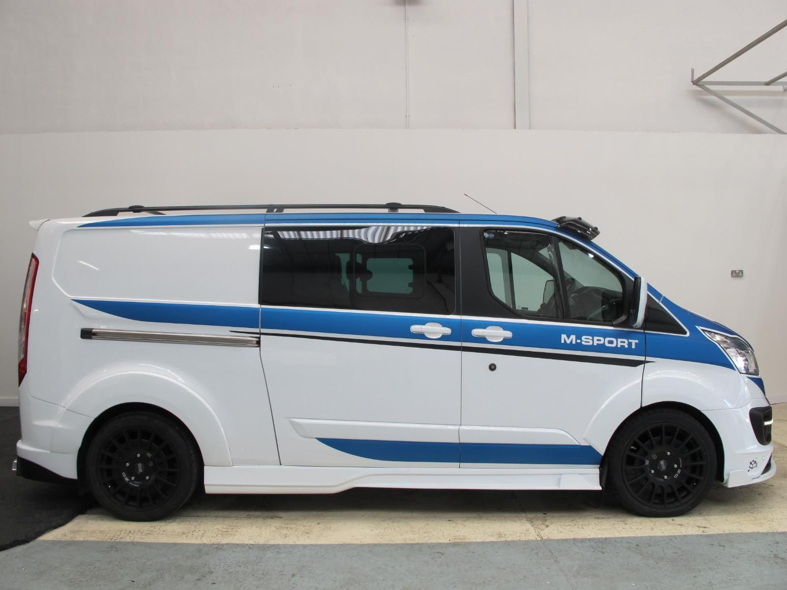 Ford Transit Custom M Sport Lwb Double Cab M Sport Extreme Kit
