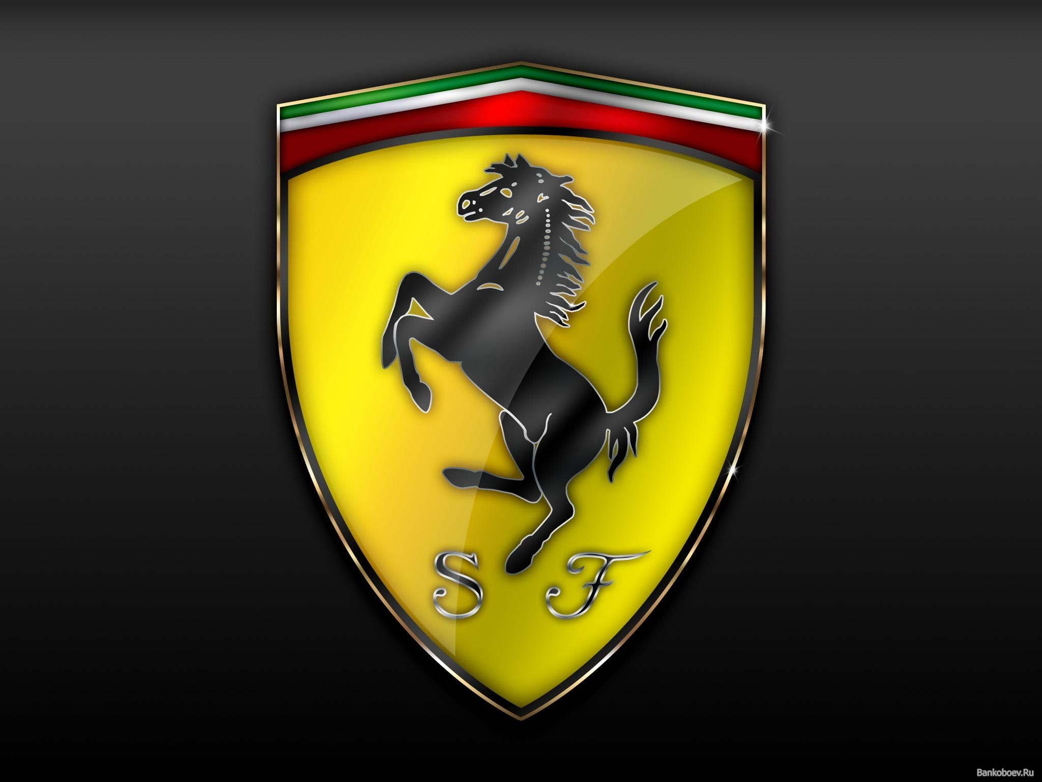 Ferrari Logo Car Wallpapers Full HD