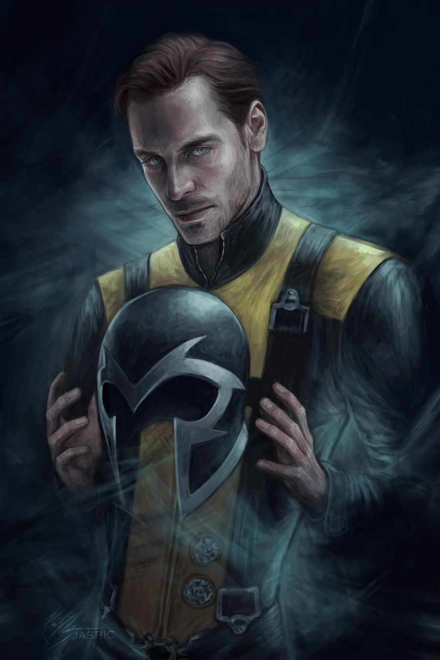 Erik Lensherr By Jasric On Deviantart X Men Marvel Quicksilver Marvel