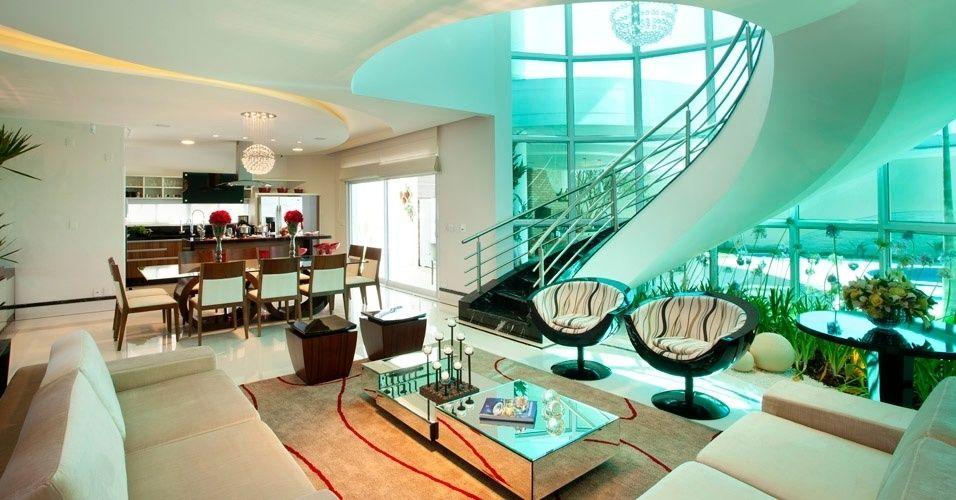 dentro de una casa - Buscar con Google | Escaleras modernas ...