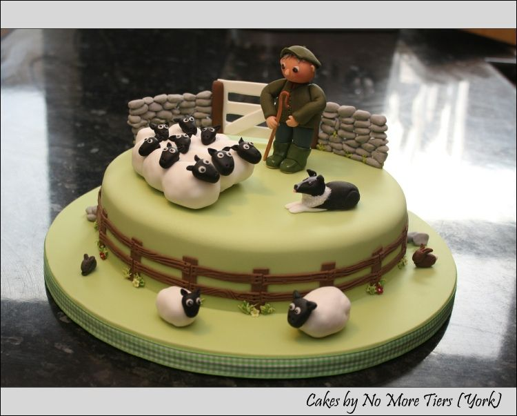 Pin By Art Of Three On Cake Ideas In 2019 Sheep Cake