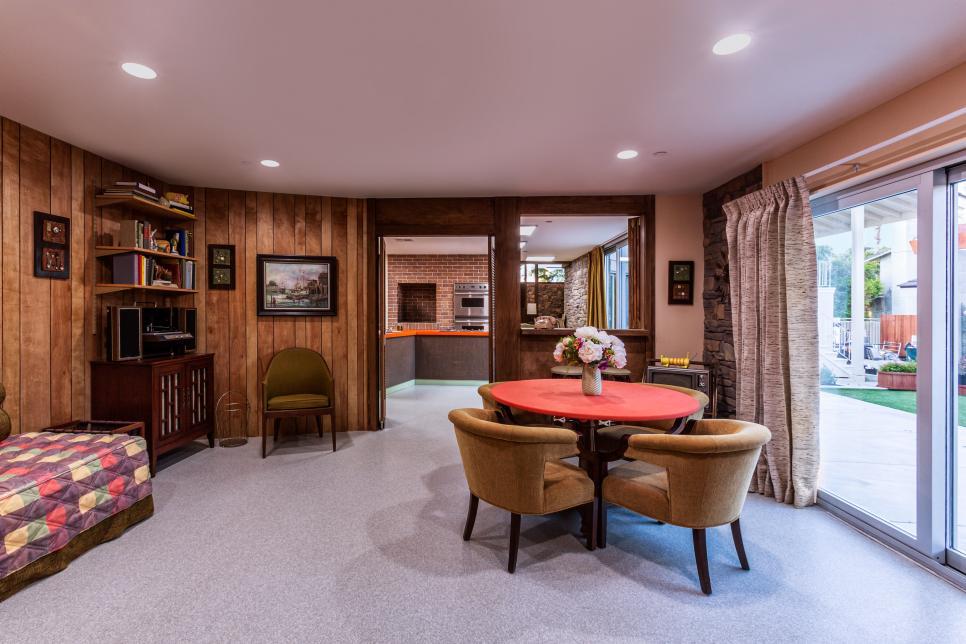 The Brady Bunch House Renovation Revealed Part 3 Kitchen Alice s Room Family Room & Backyard