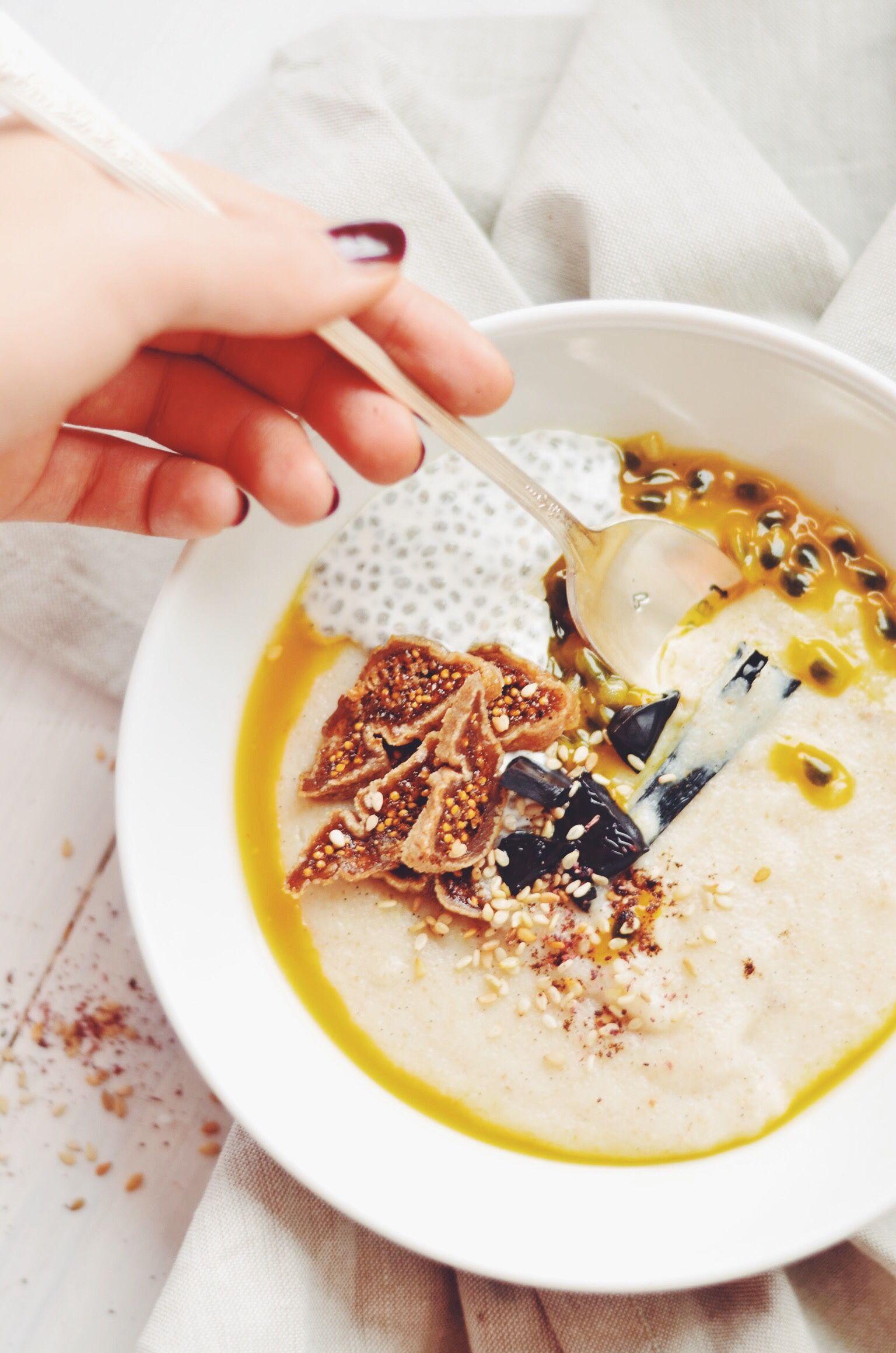 This Semolina Tahini Porridge Recipe Makes Winter MorningsBearable