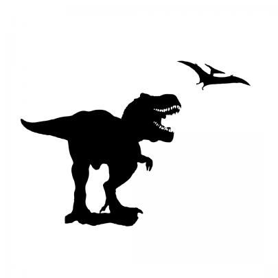 T Rex Skeleton Clip Ar...