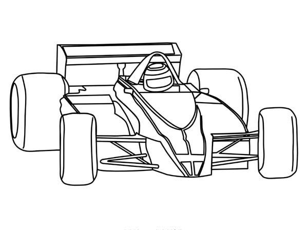 free cars cartoon coloring pages | race car coloring pages | Race car coloring pages, Cars ...