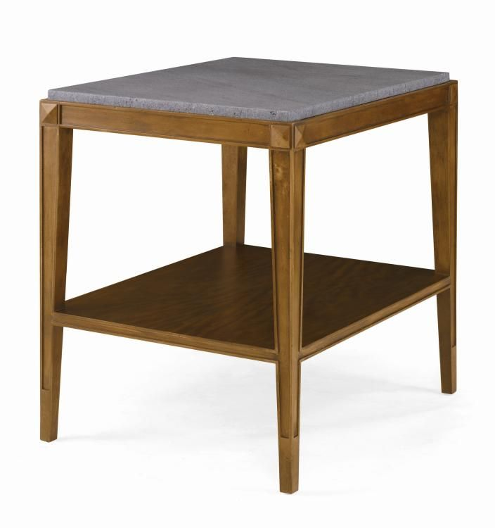 719 623m Lorrain Side Table With Stone Top Furniture