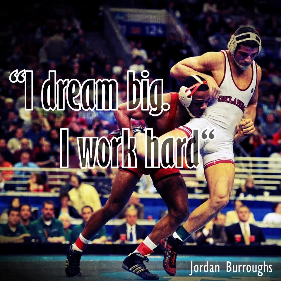 Jordan Burroughs. Future Olympic gold medalist. I believe