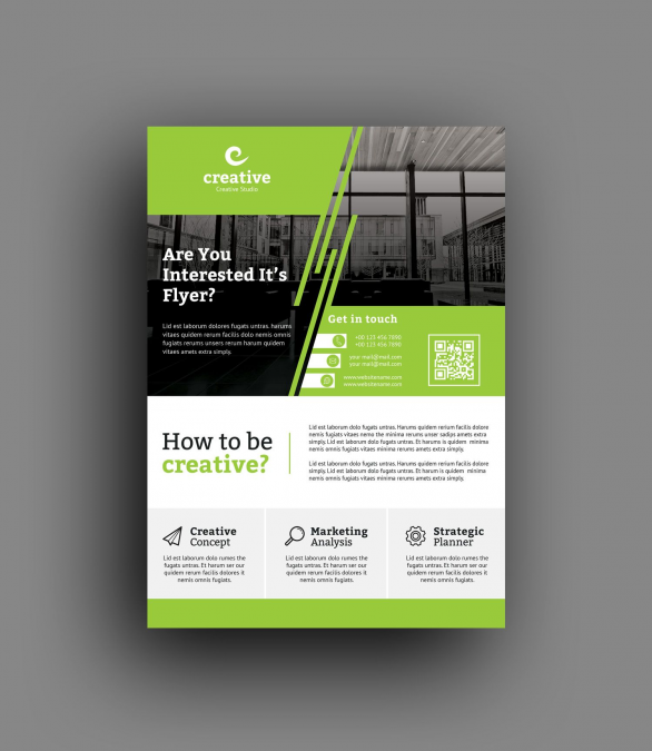 Zurich Professional Business Flyer Template 6