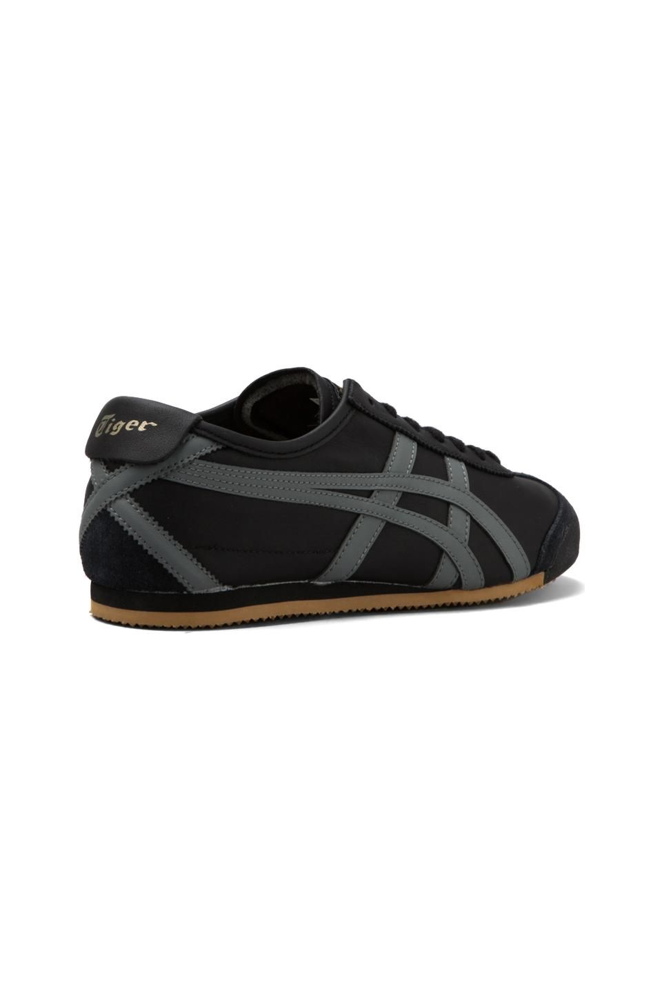 b05ff7d75e311 Onitsuka Tiger Mexico 66 in Black Grey Gold
