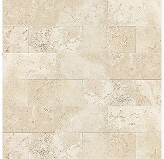 "View the Daltile T720-361L Travertine Baja Cream 6"" x 3"" Small Polished Stone Multi-Surface Tile at Build.com."