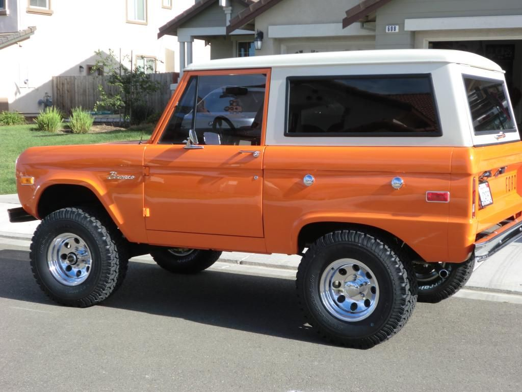 3 5 Lift 32x10 50 Bfg Ford Bronco Early Bronco Ford Suv