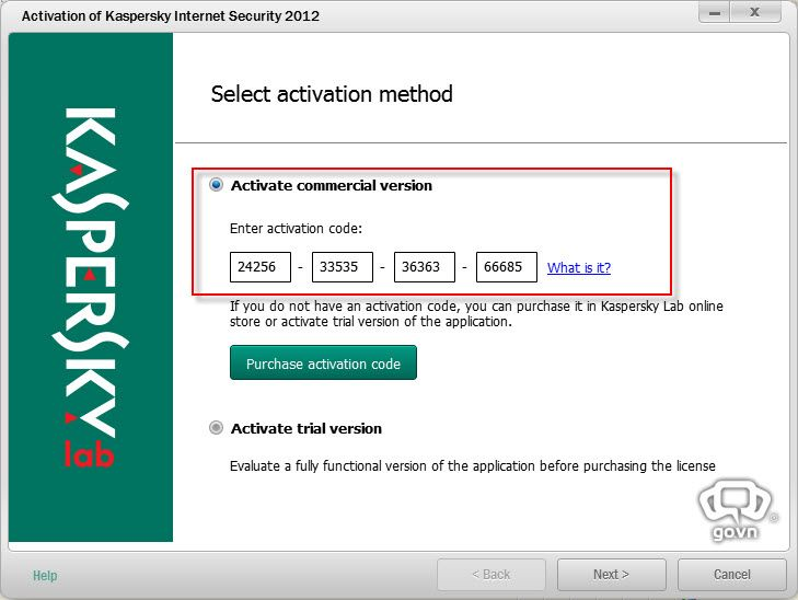Kaspersky internet security 2012 activation code crack