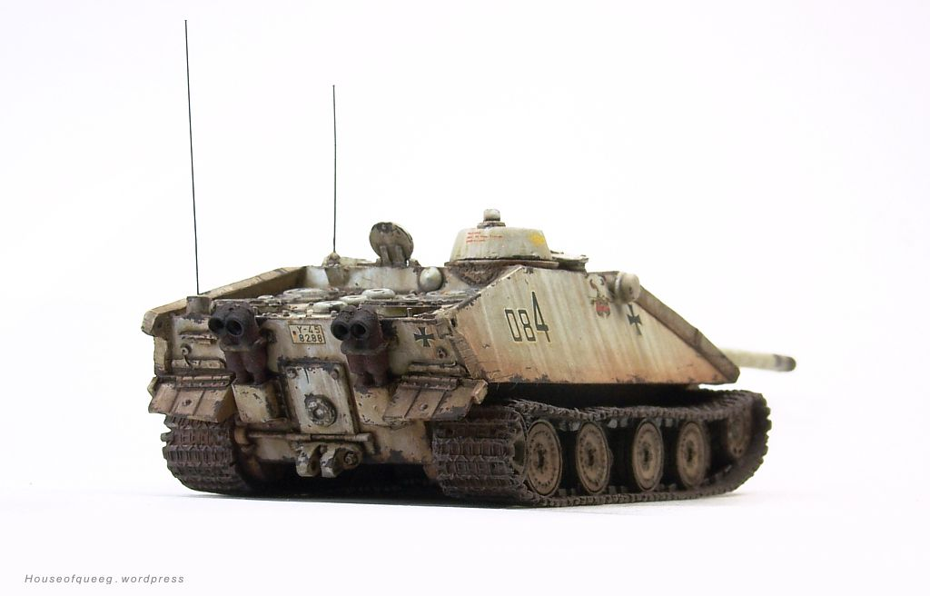 KiwiModeller .COM: E-100 Tank Destroyer Krokodil (1/1 ...