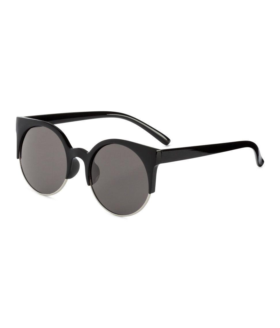 e3235cb2781cf Black Retro Sunglasses   H M Accessories   sunglasses   Pinterest ...