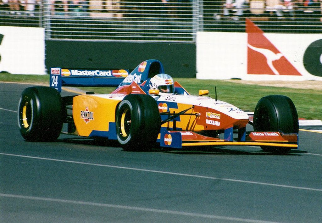 Mastercard Lola F1 Teams Background 3