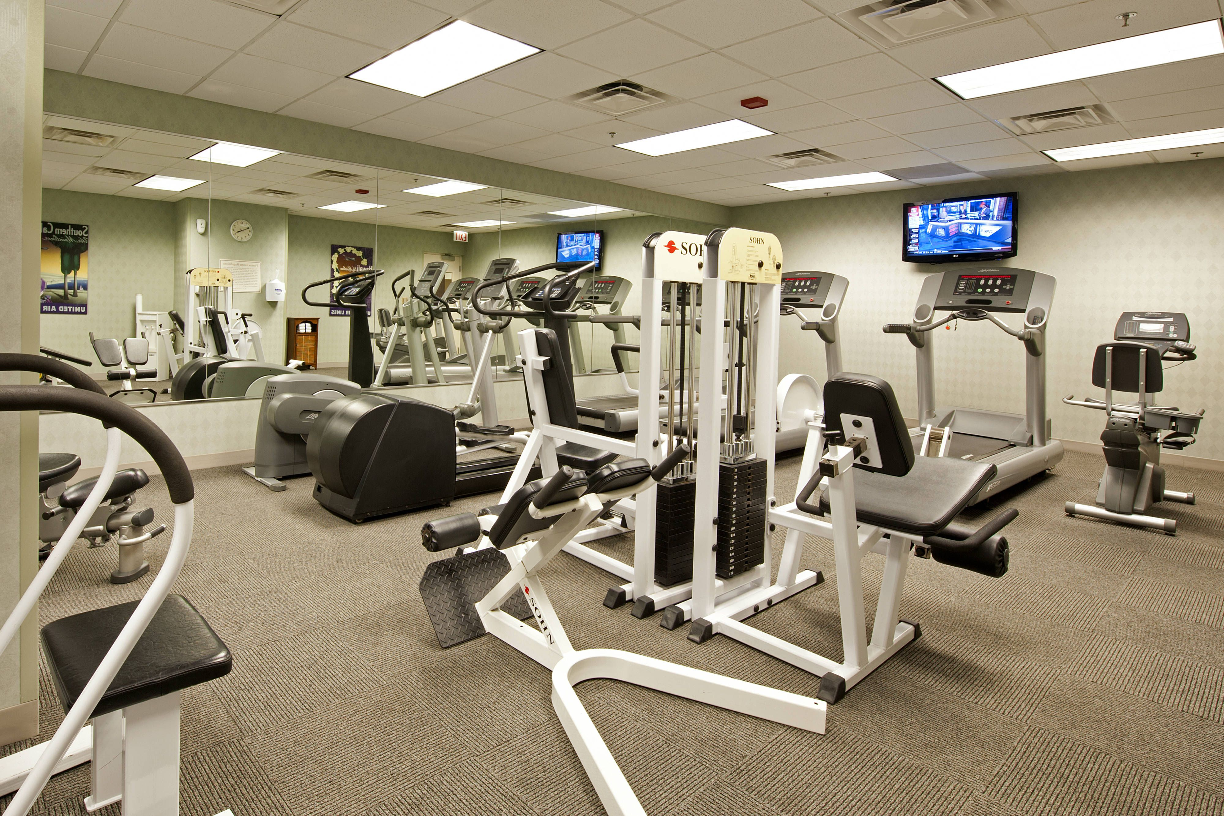 Springhill Suites Chicago O Hare Fitness Center Hotels Guest Holiday Springhill Suites Hotel
