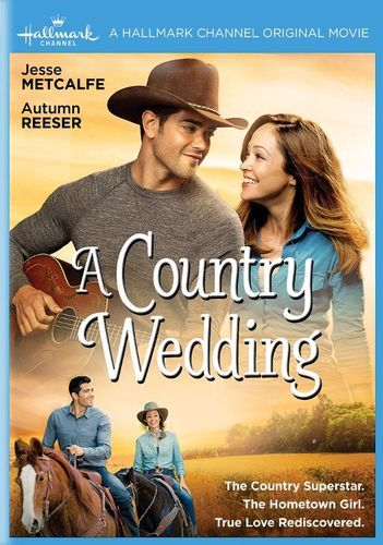 A Country Wedding Dvd 2015 Best Buy Hallmark Movies Romantic Movies Country Wedding