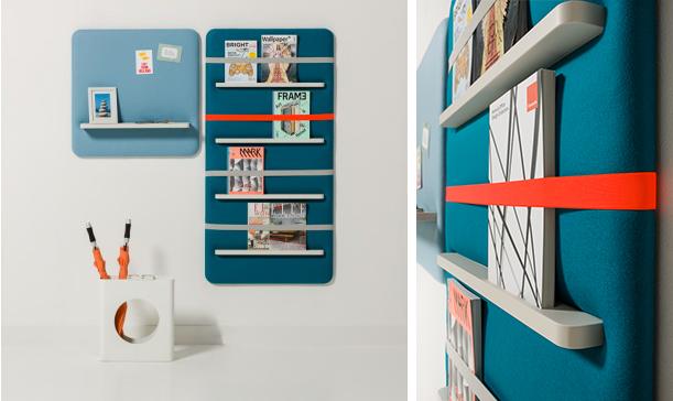 Pin By Destin Husky Advertising Llc On Kiosk Modern Magazine Racks Wall Shelves Magazine Storage