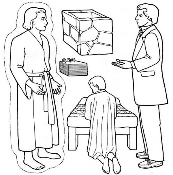Picture Of Joseph Smith Coloring Page Kleurplaten