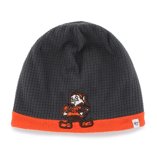 bdcf182caa1 Cleveland Browns Horseshoe Clean Up Natural 47 Brand Adjustable Hat ...
