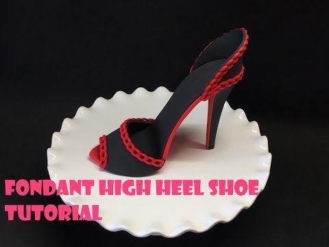 97f6c2286e89 SHOE CAKE - How To Make a High Heel Stiletto Shoe by Cakes StepbyStep -  YouTube