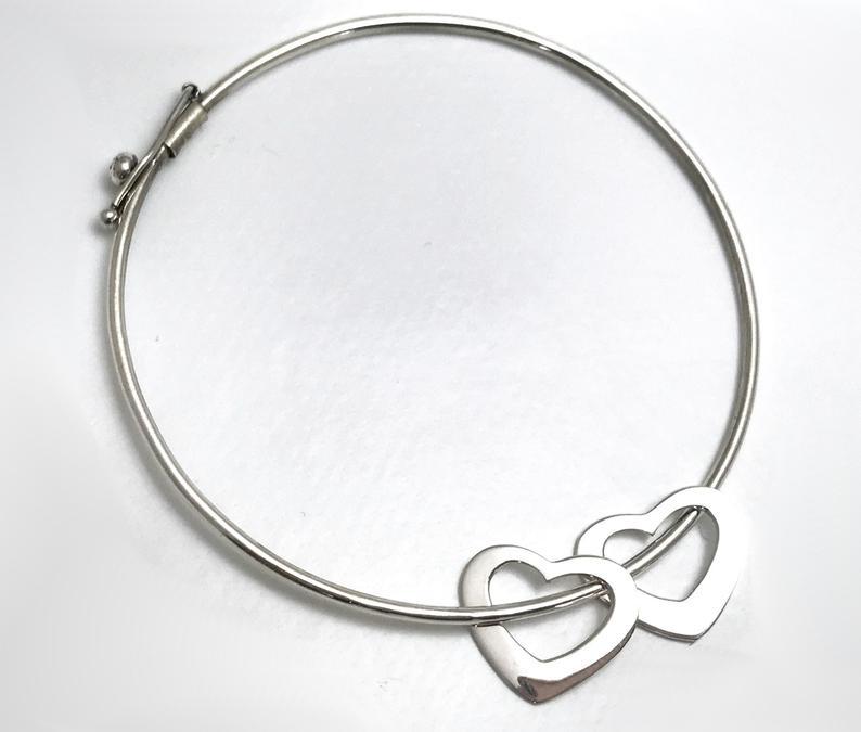 bracelet argent massif femme 925
