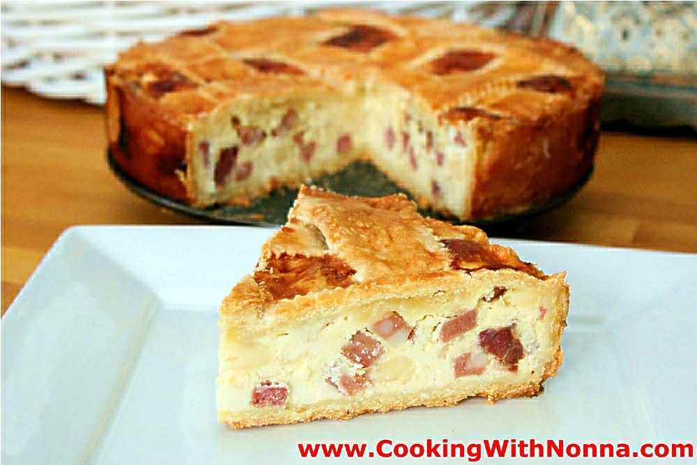 Nonna S Pizza Rustica Recipe Pizza Rustica Easter Recipes Food
