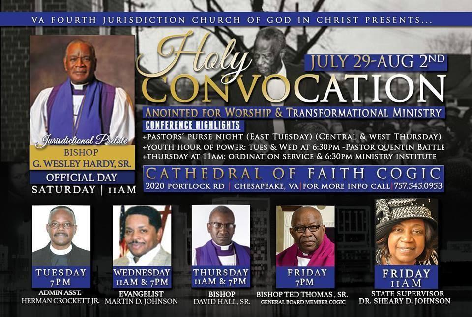 Cogic convocation 2014 dates