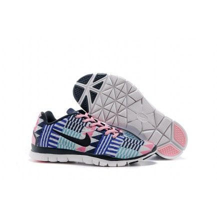 b73c918cc73a Nike Free Trainer 5.0 Women Pink Blue
