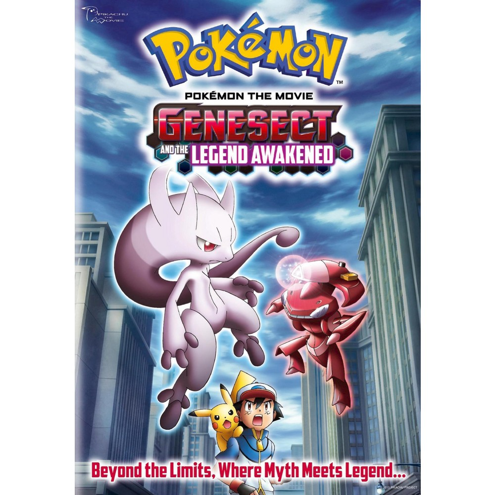 Pokemon The Movie Genesect And The Legend Awakened Dvd Video