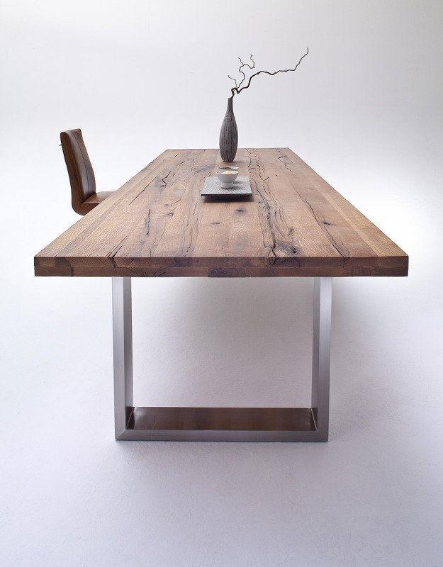Esstisch Castello Eiche Bassano Massivholz Kuche Dekoration Ideen Dining Table Wood Dining Table Dining Room Table