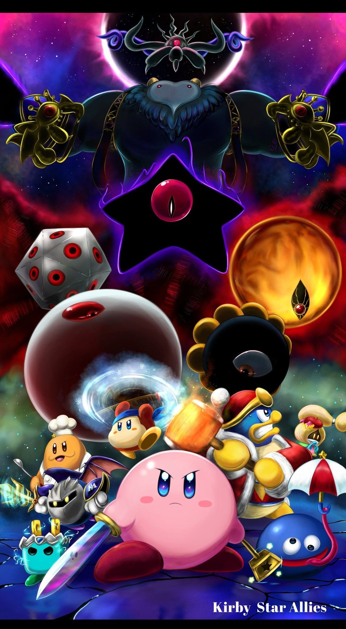 This Is One Of The Most Epic Kirby Fanarts Ive Seen Kirby