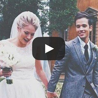 Icarly Star Nathan Kress Releases His Wedding Video Watch The Emotional And Beautiful Montage Wedding Video Nathan Kress Wedding Nathan Kress