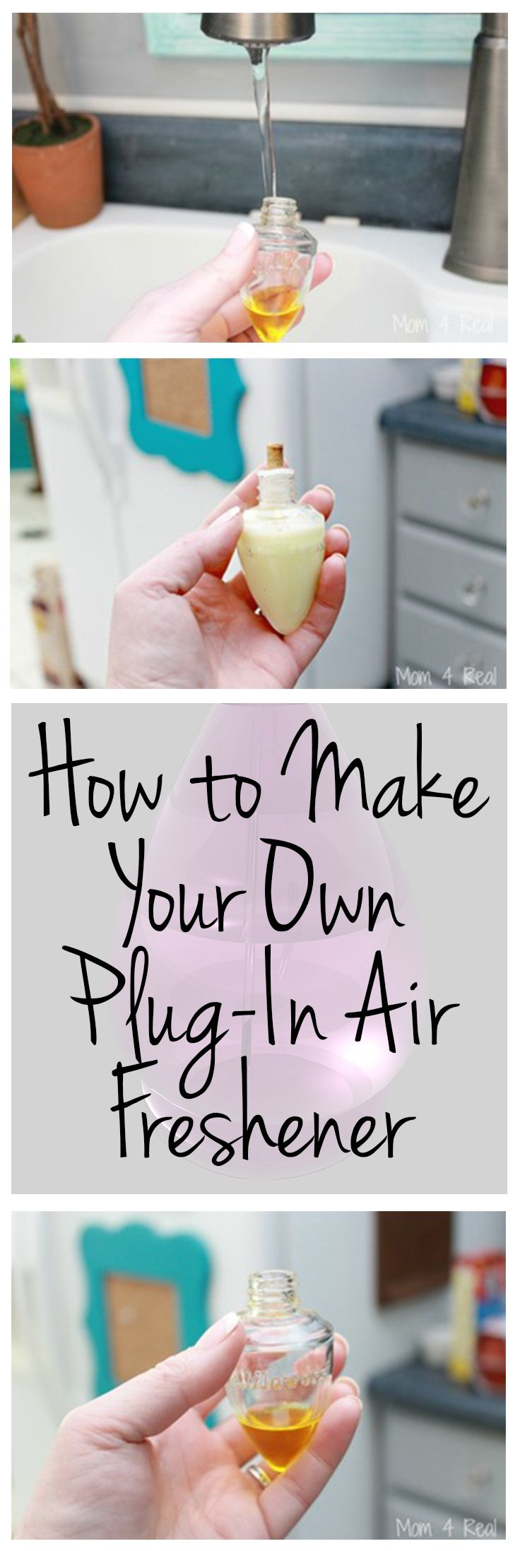 how to make your own plug in air freshener