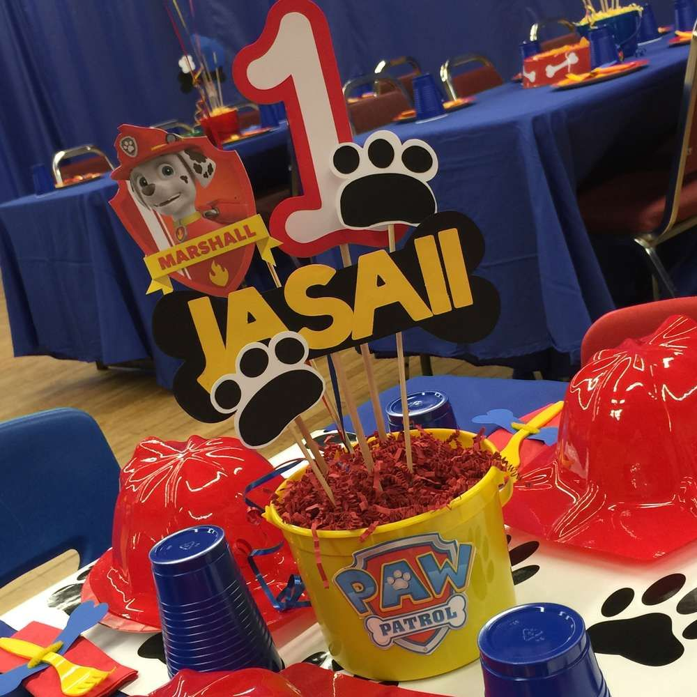 Paw Patrol Birthday Party Ideas Paw Patrol Paw Patrol