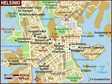Pin By Postcubist On Adventures Helsinki Finland Map