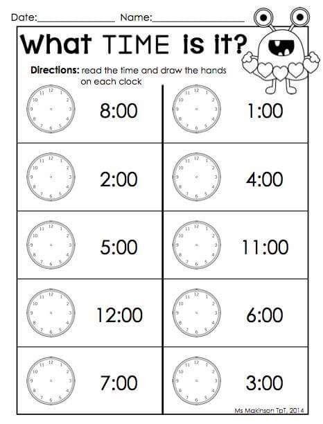 Pin By Marzena Olejnik On Zegar Pinterest Maths Pre School And