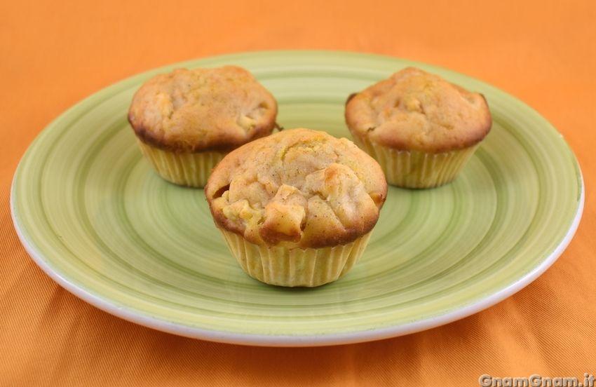 Muffin zucca e mele   Ricetta   Idee alimentari, Ricette ...