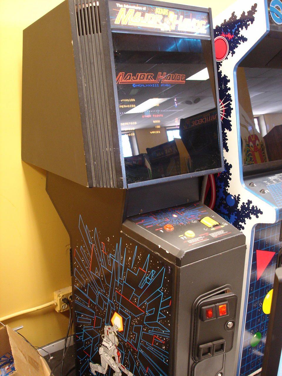Major Havoc Arcade Game (1983) arcade retrogaming