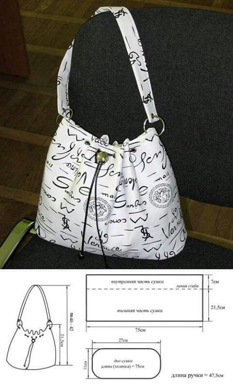 Pin de Isabel en DIY Coser bolsos, monederos, mochilas. Bags, purses ...
