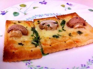 マッシュルームとチーズで 簡単オードブル レシピ・作り方 by BEBE2936|楽天レシピ