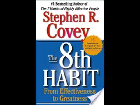 The 8th Habit By Stephen R Covey Ebook Pdf Youtube Habit