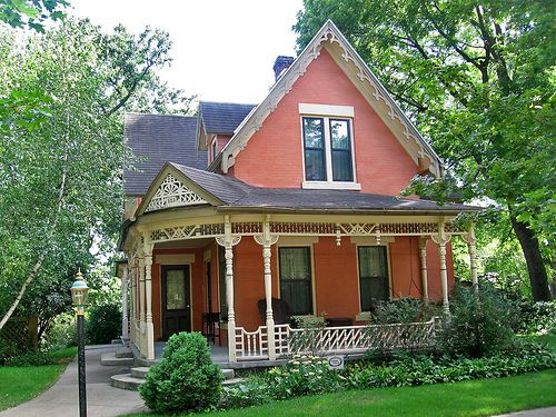 Amazing Victorian Cottage House Decorah Iowa Street View Pinterest Largest Home Design Picture Inspirations Pitcheantrous