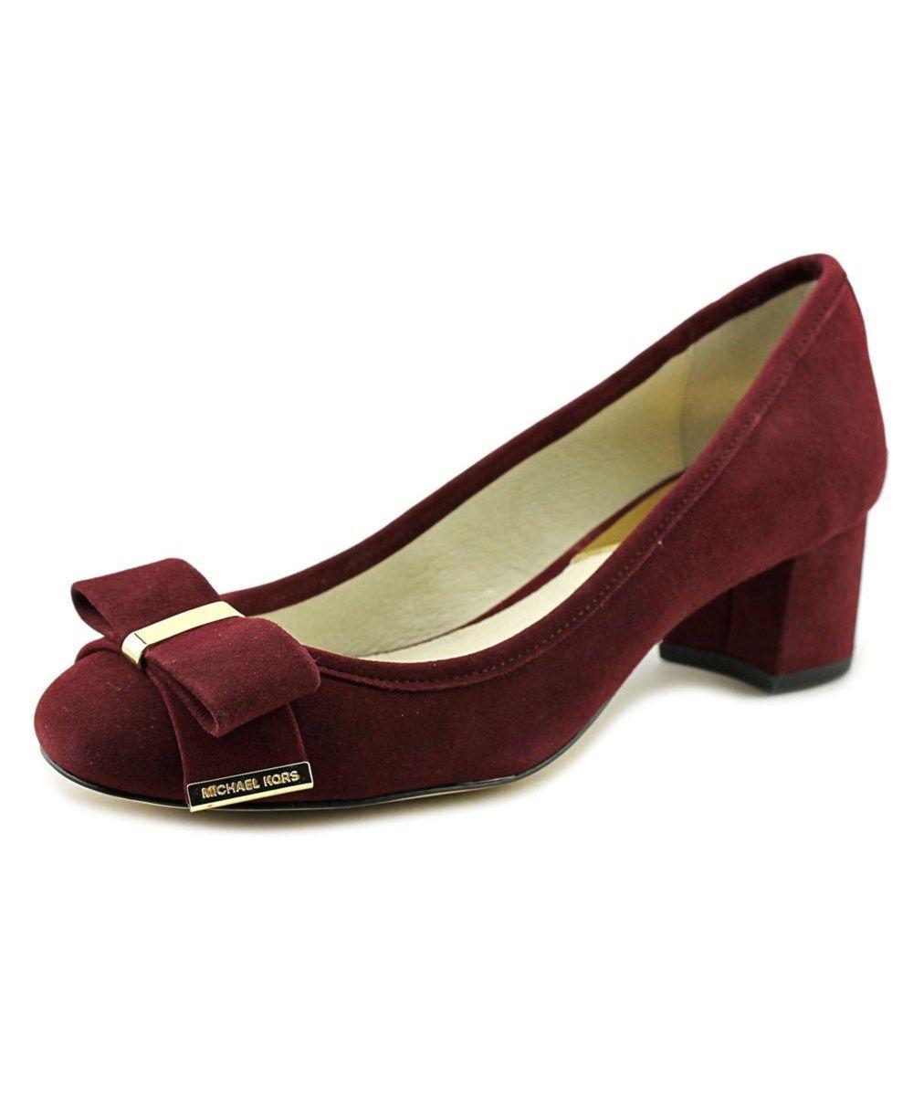 35ac4c3396d3 MICHAEL MICHAEL KORS Michael Michael Kors Kiera Mid Pump Round Toe Suede  Heels .  michaelmichaelkors  shoes  pumps   high heels