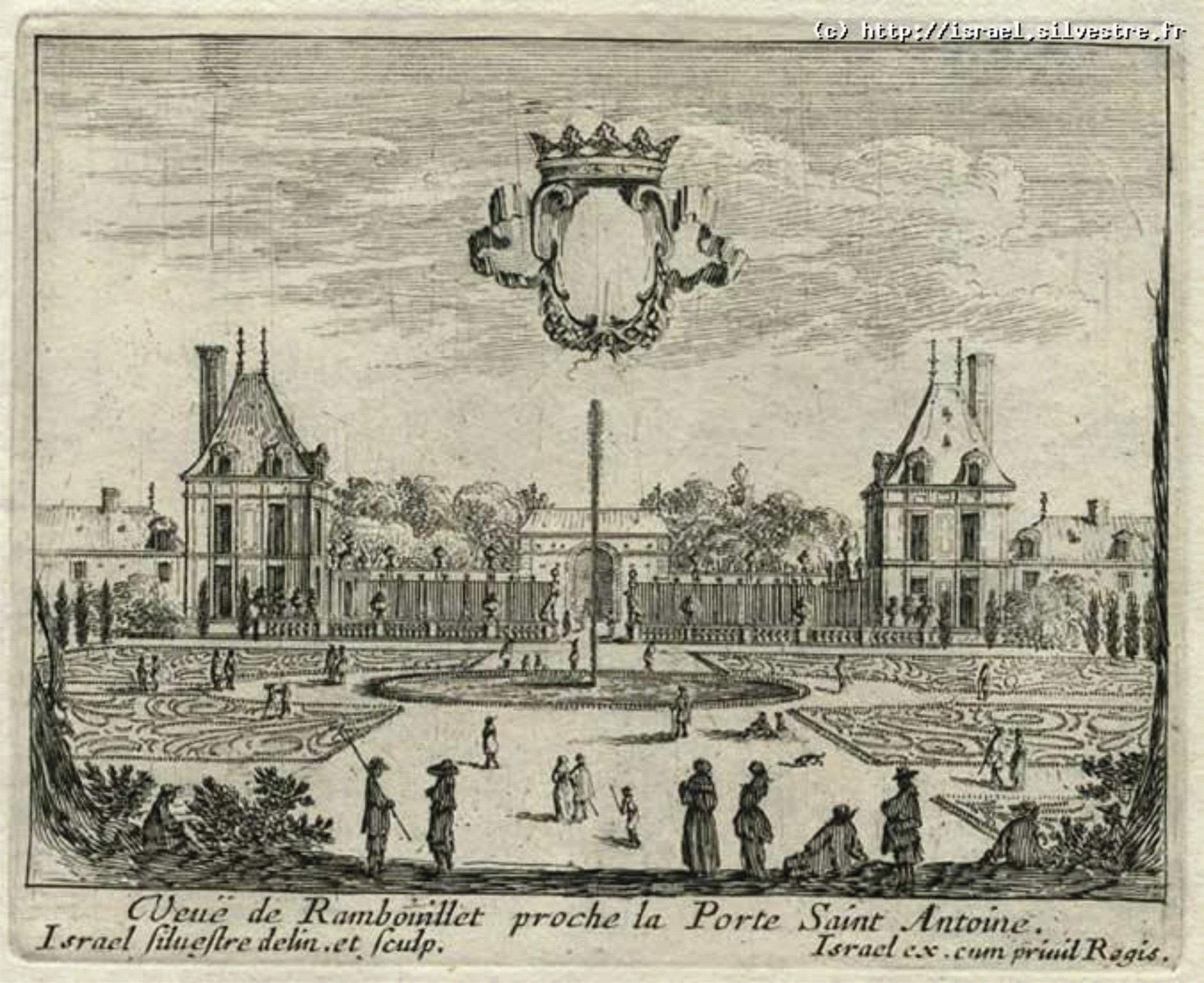 Htel De Rambouillet Au XVIIs Isaac Sylvestre 4 De La