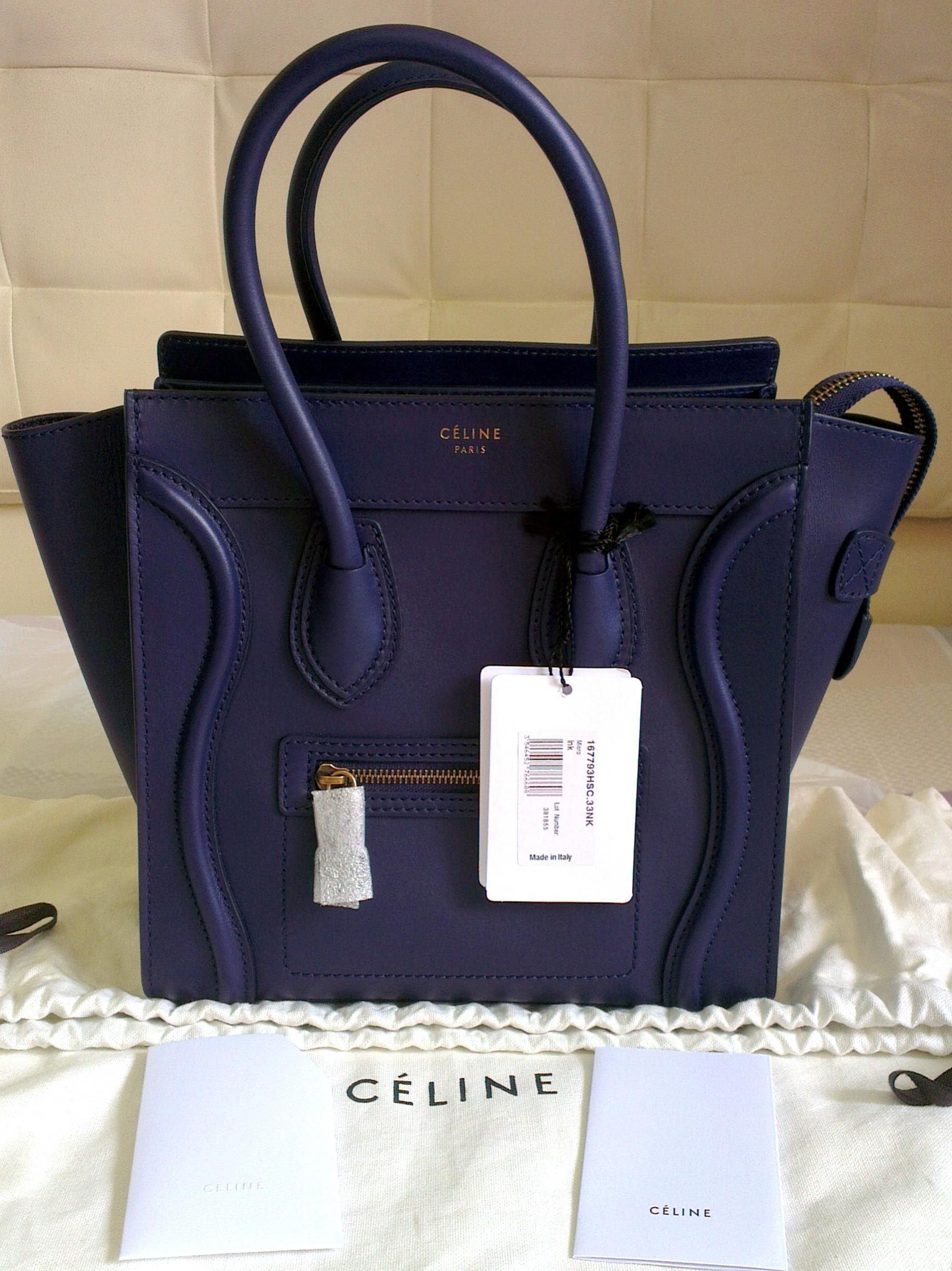 celine micro luggage navy smooth - Google Search Celine Purse 209e223b69239