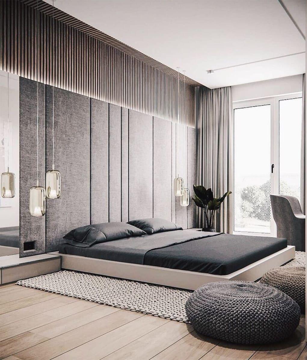 Minimal Interior Design Inspiration 218 Modern Master Bedroom Design Bedroom Design Luxury Bedroom Design Home design bedroom furniture